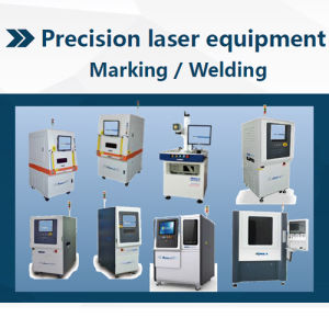 10W High Quality Fiber Laser of Diamond Film Cutting Marking Machine pictures & photos