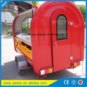 Fiberglass Trailer Scooter Food Cart Commercial Hot Dog Cart pictures & photos