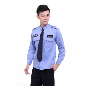 Spring Polyester and Cotton Workwear Security Guard Uniform for Guard pictures & photos
