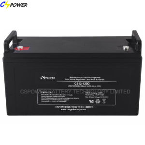 Deep Cycle Solar AGM Batteries 12V120ah for Power Storage pictures & photos