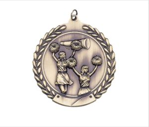 2′′ 3D Plating Diecasting Girls Cheer Rim Sports Medals pictures & photos