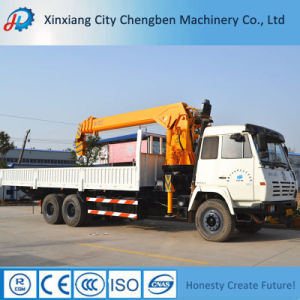 Excellent Lorry-Mounted Cargo Crane Truck /Used Truck Mounted Crane pictures & photos