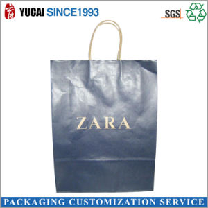 Full Color Print Kraft Paper Bag with Logo pictures & photos