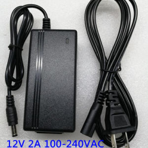 12V 2A 24W Desktop Style AC Adapter Laptop Power Adapter pictures & photos