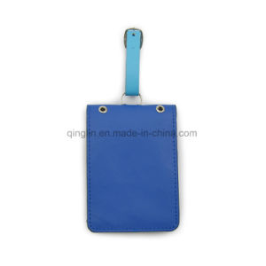 High Quality Promotion Gift PU Leather Luggage Tag pictures & photos