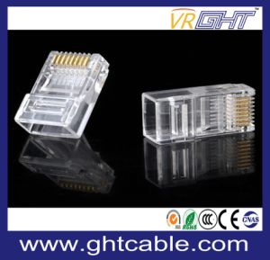 8p8c RJ45 Crystal Head for Cat5 pictures & photos