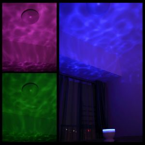 Ocean Wave Night Light Projector and Music Player pictures & photos