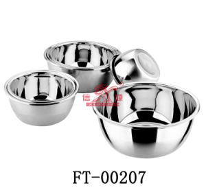 Stainless Steel Food Basin (FT-00207)