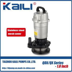 QDX electric Submersible Water Pump (QDX1.5-16-0.37)With High Quality pictures & photos