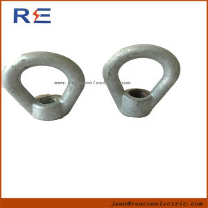 Used for Deadending with Suspension or Strain Insulaotr 5/8 Oval Eye Nut pictures & photos
