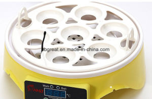New Mini Hottest Automatic Poultry 7 Egg Incubator for Sale pictures & photos