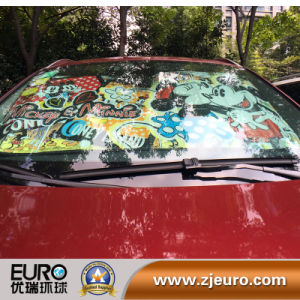 Car Front Windshield Cartoon Sun Shade pictures & photos