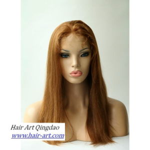 High Quality Human Remy Hair Full Lace Wig for Women pictures & photos