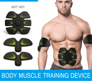 Electric EMS Body Training Navel Slimming Patch pictures & photos