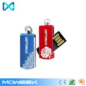 Mini Swivel/Twist Metal Promotion Stick USB Flash Pen Drive pictures & photos