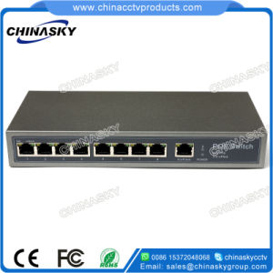 CCTV 8 Poe + 1 Fe 9 Ports Poe Switch (POE0810) pictures & photos