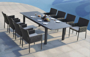 Wicker Outdoor Rattan Dining Set