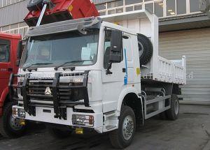 HOWO 290HP 16 Ton 4X4 Dumper Truck pictures & photos