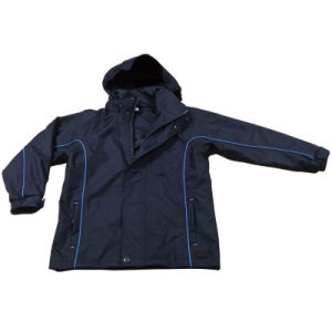 Kid′s Children′s Polyester Waterproof Outdoor Apparel Clothing Coat Jacket (OSW11) pictures & photos
