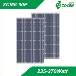 260W Mono Crystalline Solar Panel pictures & photos