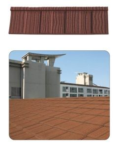 Light Weighted Metal Roof Tile-Shake-1320*420*0.4mm