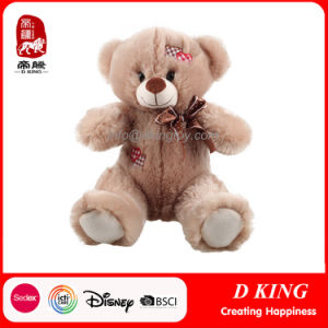 Wholesale Stuffed Toy Soft Plush Teddy Bear with Patch pictures & photos