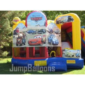 Inflatable Cars 5 in 1 Combo Castle (B2024) pictures & photos