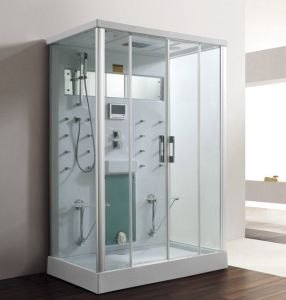 1.4 Meters White Acrylic Indoor Steam Shower Enclosure pictures & photos