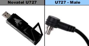 Novatel Wireless U727 Connector