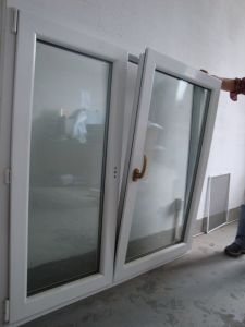 PVC Tilt and Turn Window (TS-181) pictures & photos
