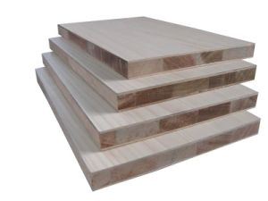 Melamine Falata/Paulownia Core Block Board for Export pictures & photos