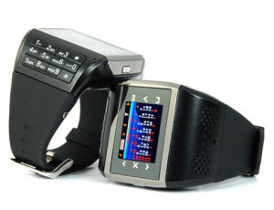 Dual SIM Cards Watch Mobile Phone (Q8)