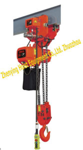 Electric Chain Hoist (7.5T-03 S/D) High Quality