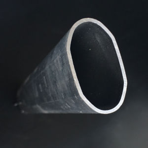 Aluminum Extrusion/Extruded Aluminium Pipe with Flat Top pictures & photos