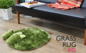 Bright Green Grass Rug, for Living Room or Private Room, Oeko - Tex Standard 100 Certificated pictures & photos