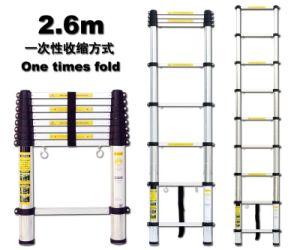 Telescopic Ladder - 2.6m -EN131/SGS, GS/TUV, PAHS, REACH, BSCI