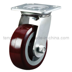 Industrial Heavy Duty Swivel Caster with PU Wheel