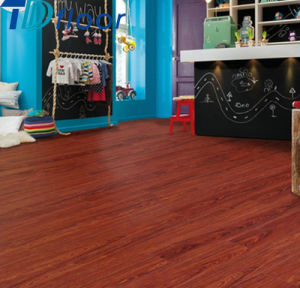 The Best Quality Durable Click Vinyl Flooring Planks pictures & photos