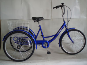 Popular Old People Use Single Speed Tricycle (FP-TRCY033) pictures & photos