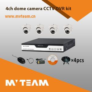 CCTV Security 4CH Ahd 720p 4PCS Dome Camera DVR Kit Mvt-Kah04D pictures & photos