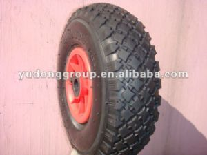 Pneumatic Wheelbarrow, Trolley, Tool Cart Rubber Wheel 4.10/3.50-4 pictures & photos