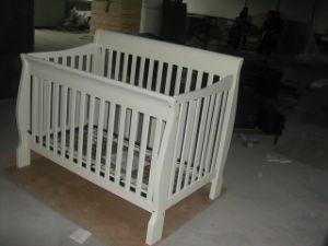 Baby Convertible Cot (Princeton Ruby White)