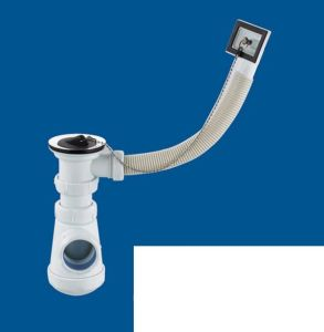 Basin Drainer with Overfall Fitting, Basin Waste Valve pictures & photos