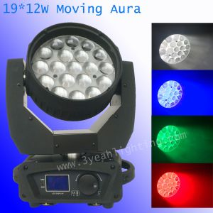 12W*19 LED Moving Head Aura pictures & photos
