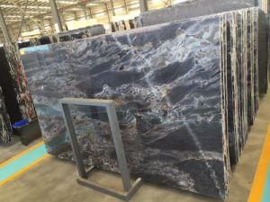New Chinese Brown Black Marble Slab Onxy pictures & photos