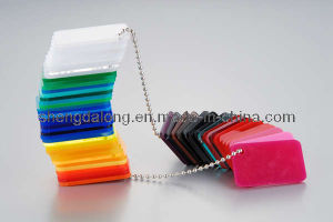 Colored Cast Acrylic Sheet PMMA pictures & photos