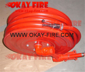 "Okay Fire 1""X30m CE Fire Hose Reel with Nozzle (OK005-002)"