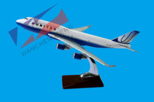 Plane Model (B747-400-UNITED) pictures & photos