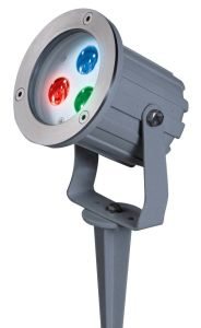 3*3W RGB IP67 LED Garden Light with CE, EMC, RoHS Approval