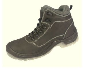 Horse Crazy Leather Safety Shoes (SN1725) pictures & photos